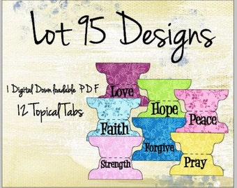 12 Funky Floral Topical Bible Tabs for Bible Journaling or Planners. Purple,Lime Green,Pinks and Blues! A great addition to your bible tabs.