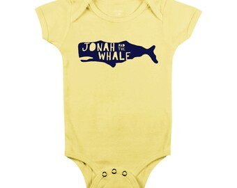 Jonah and the Whale (Baby Onesie)