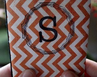 Orange ZigZag S Sketchbook