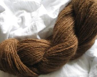 Baby alpaca yarn, finest knitting wool, hand spun, 100 g, 3.5 oz