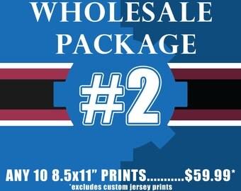 "WHOLESALE PACKAGE #2 Includes TEN(10) 8.5x11"" prints"