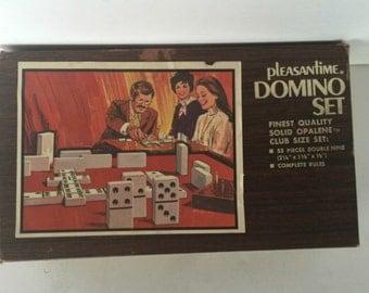 Vintage 1970's domino set