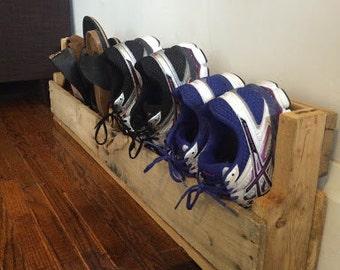 Rustic Shoe Racks