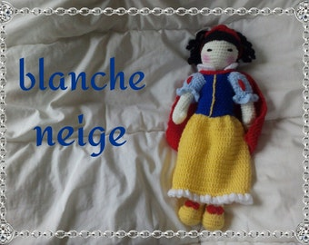 The snow white doll tutorial