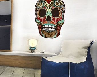 Sticker wall Sugar skull