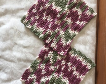 100 % Cotton Crochet Washcloths