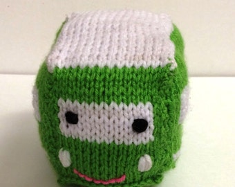Knit trolley bus