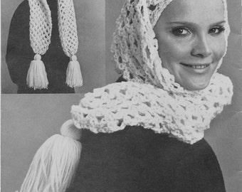 """1960's Crochet """"Elf"""" Hat Pattern"""