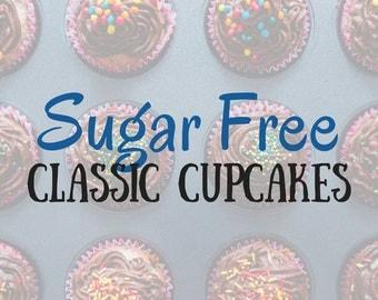 Sugar Free Cupcakes in a Jar Classic Flavors