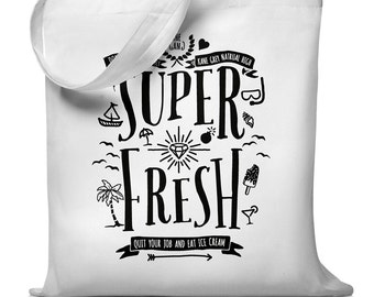 Super fresh - jute bag