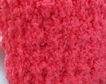 The HOT PINK FUZZY Scarf