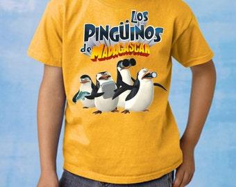 Penguins of Madagascar T Shirt / Playera All Ages sizes