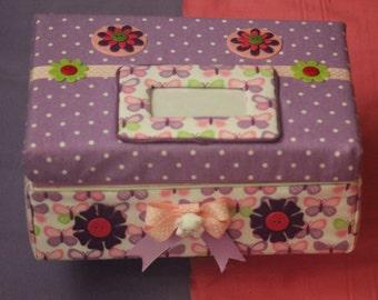 Fabric-covered Keepsake Box