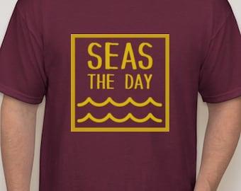 Seas The Day (Maroon)