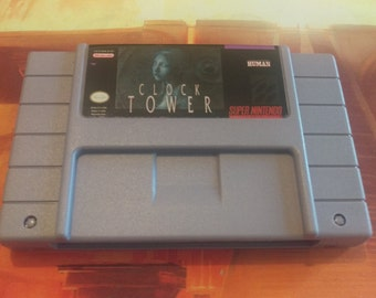 Clock Tower SNES Reproduction with English translation