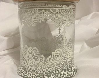 Beautiful Hand painted lantern