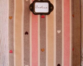 Model fabric hearts