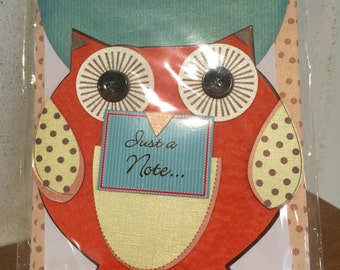 Owl Greeting Card/ Paper Magic Group Greeting Cards | Blank Cards | Cards and Envelopes /Note Cards