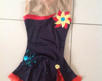rhythmic gymnastics skirt 8 years Leotard / RG Léotard