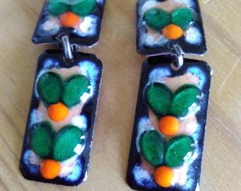 Seventies earrings