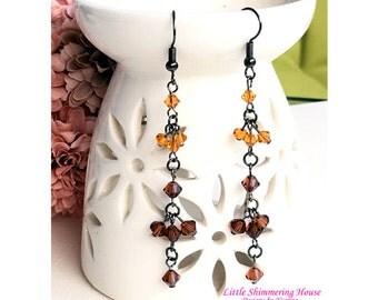 ER9 - Dazzling Swarovski Dangling Earrings
