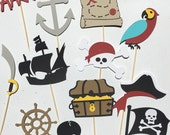 Pirate Cupcake Toppers | Ship Cupcake Toppers | Birthday Cupcake Toppers