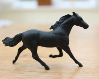 Roughian II; The Miniature Chalkboard Horse