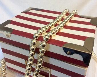 10mm Japanese Gold Metallic Beads