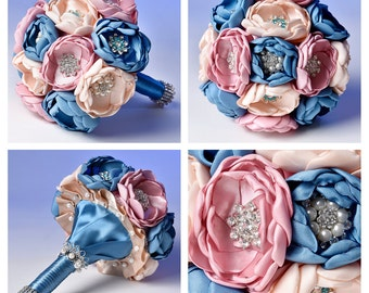 Brooch bouquet,Jewelry bouquet, Wedding bouquet, Bridal bouquet