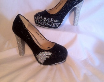GAME OF THRONES inspired heels * * * sizes 3-8