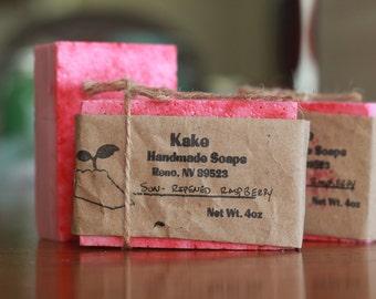 Sun-Ripened Raspberry Bar Soap