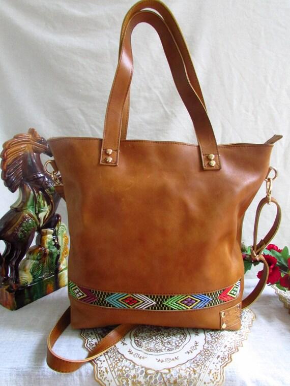 brown leather handbag, handbag for women, leather women handbag, women leather tote, distressed leather bag, women purse, shoulder bag