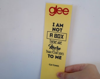Glee bookmark