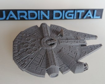 Falcon Millennium Star Wars printed in 3D