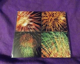 fireworks coasters