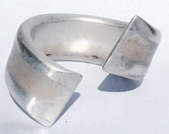Oblique Cuff Bracelet