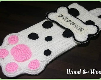 Dog Christmas stocking, Christmas stocking, personalised, pet stocking, cat stocking, fur baby stocking,