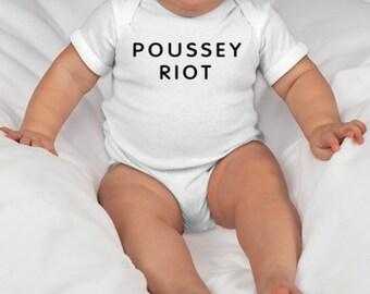Poussey Riot Baby Onesie, Poussey Onesie, OITNB Baby Onesie, Orange is the New Black shirt