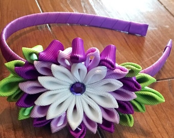 Kanzashi Flower Headbands