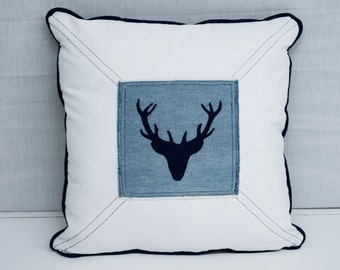 Decorative cushion: Moose head