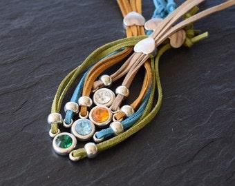 DIY Neutral Tones Wristband Bracelet Jewellery Kit Set
