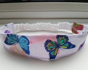 Girls butterfly headband, gifts for girls, flower girl