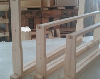 10 wooden Bee Hive frames Wedge