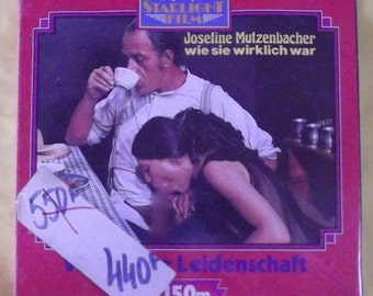 Film Super 8 Josefine Mutzenbacher Italian SM erotic charming libertine Libertine Erotica Vintage 1977