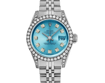 Rolex 69174 Datejust Ladies Diamond  Watch