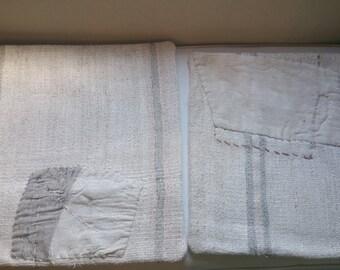 Vintage shabby cottage kilometers pillow shams