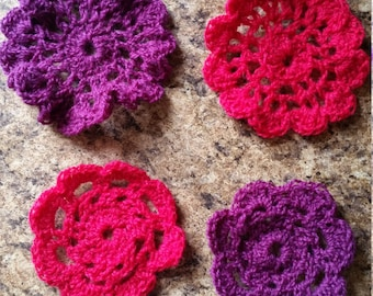 Crochet Coasters set of 4