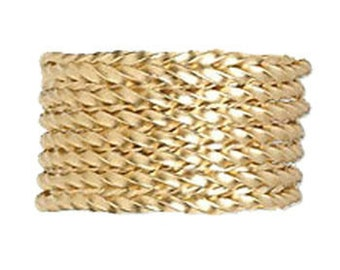 Gold Filled Twisted Wire 1 oz. - 21 Gauge Half Hard FREE SHIPPING