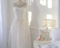 SALE Stunning 30s wedding dress