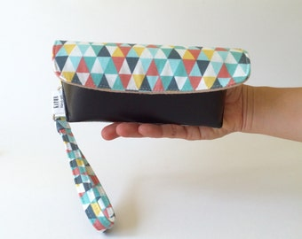 Triangle sunglass hard case